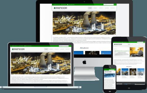 Strona www dla firmy zajmującej się uszczelnieniami